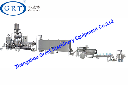 Floating Fish Feed Processing Line