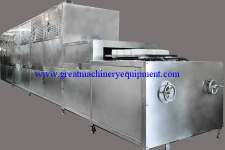 Industrial Microwave Continuous High Temperature Sintering Eq