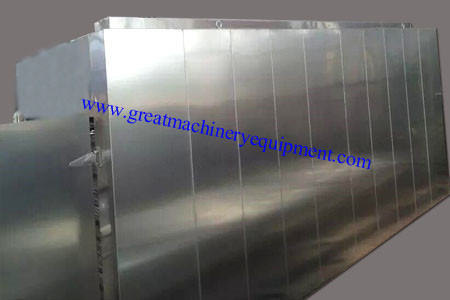 2t / batch tunnel-type hot air circulation oven for gin