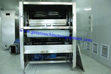 Industrial Microwave Multi-belt Continuous Equipment