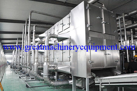30kw vacuum microwave dryer was successfully put into p